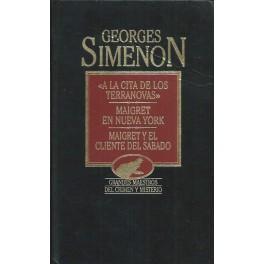 A la cita de los Terranovas / Maigret en Nueva York / Maigret y el Cliente del Sábado